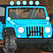Off Road Jeep Hazard Icon