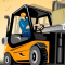 Forklift Drive Icon