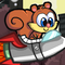 Rocket Squirrel Icon
