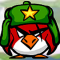Penguin Slice Ice Icon