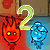 FireBoy and WaterGirl 2: In The Light Temple Icon