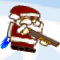 Santa with a Shotgun