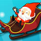 Crazy Santa Racer Icon