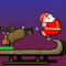 Super Santa Kicker Icon