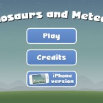 Dinosaurs and Meteors Screenshot