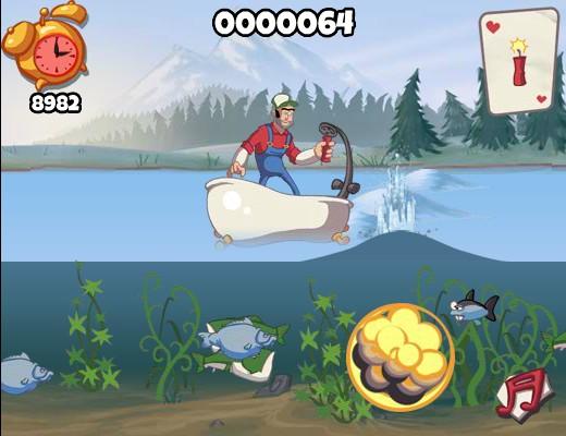 Fishing Boat Cartoon Super Dynamite Fishing...