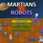 Martians vs. Robots Screenshot