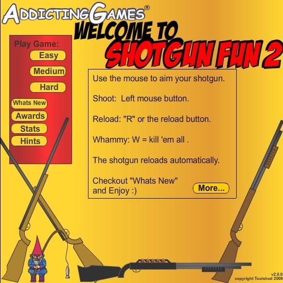 online funny sex games shotgun shoot