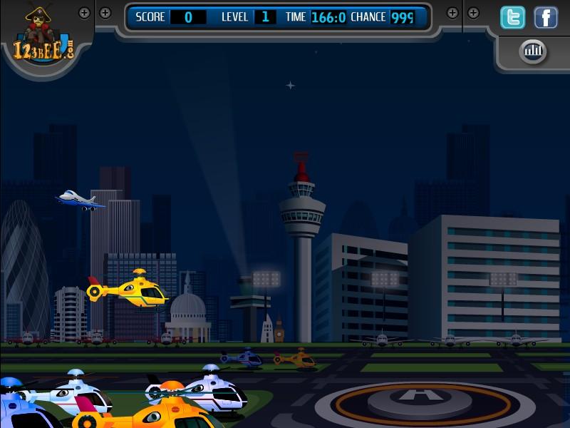 Helicopter Landing 2 @ Freegames.com