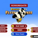 Rocket Panda: Flying Cookie Quest Screenshot