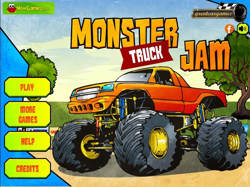 b games free online monster truck games