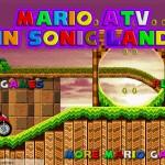 Mario ATV in Sonic Land Screenshot