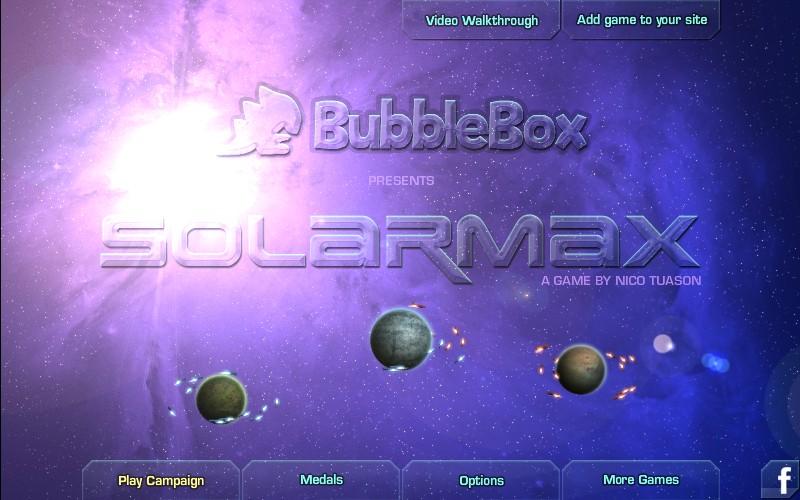 Solarmax Game