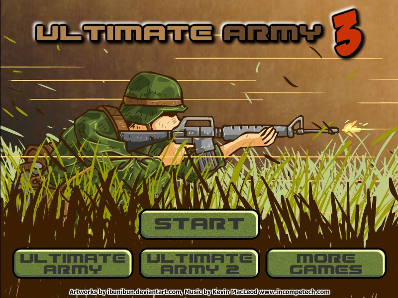 Ultimate army 3 hacked cheats hacked free games