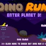 Dino Run: Planet D Screenshot