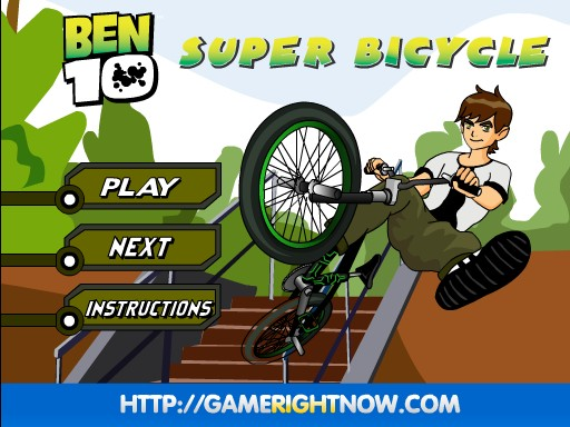 ben 10 bike games i can play free online now