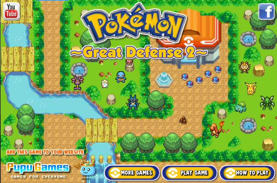 pokemon tower defense 2 hacked game online