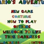 Mario's Adventure Screenshot