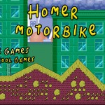 Homer Motobike Screenshot