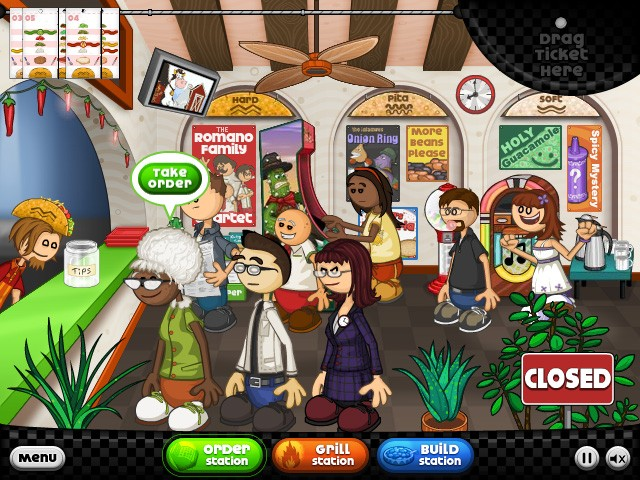 Papa S Food Games Online
