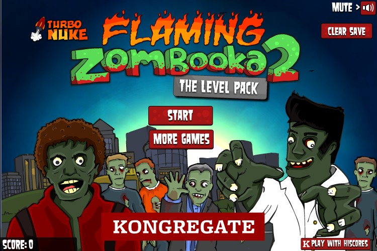 flaming zombooka 2 level pack hacked cheats hacked