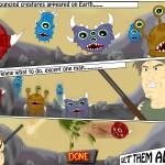 Monsters Rampage Screenshot