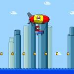 Mario Zeppelin Screenshot