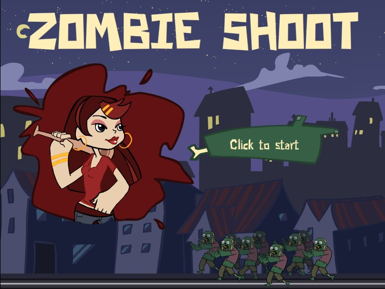 zombie to shoot game