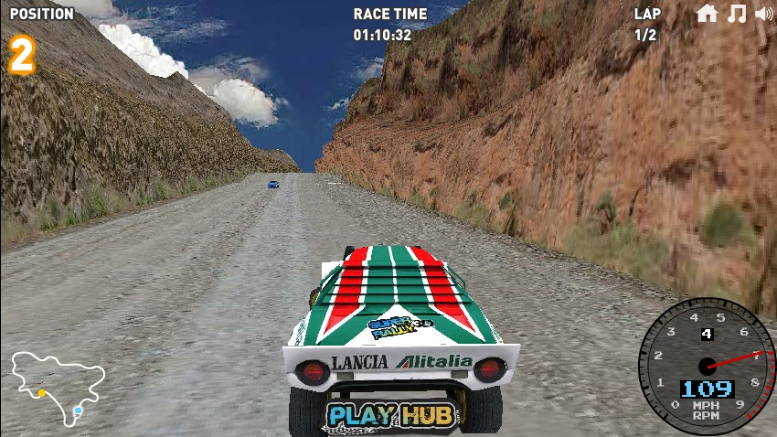 Rally race game online