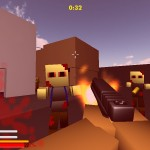 Minecraft: Zumbi Blocks 3D Screenshot