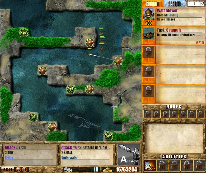 Viking Defense Hacked Cheats Free Games Arcadeprehacks
