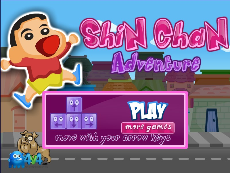 Shin Chan Car Racing Game