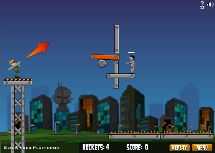 flaming zombooka hacked cheats hacked free games