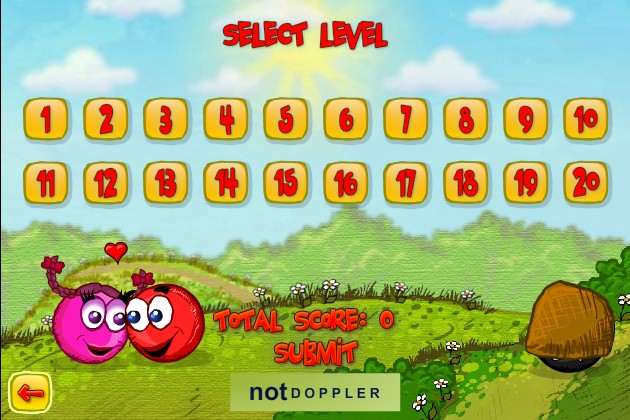 red ball online game
