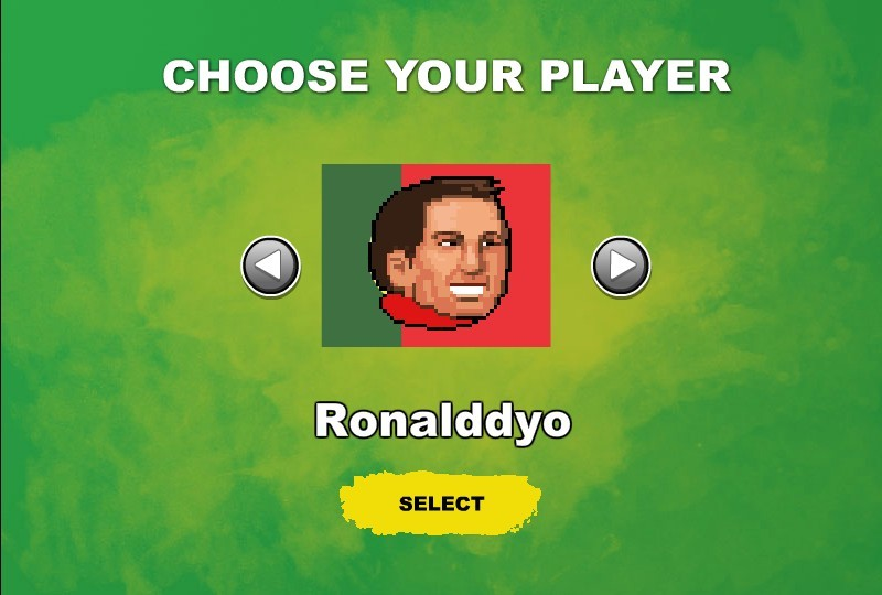 Head Action Soccer World Cup Hacked at Hacked Arcade Games