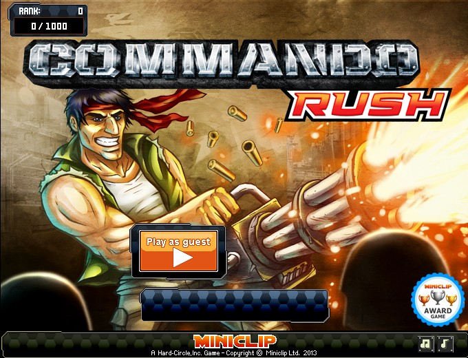 Commando Rush Hacked Game - F5 Game | Free Online Games