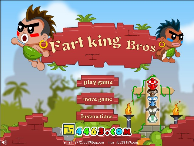 Spielen Fart King Bros