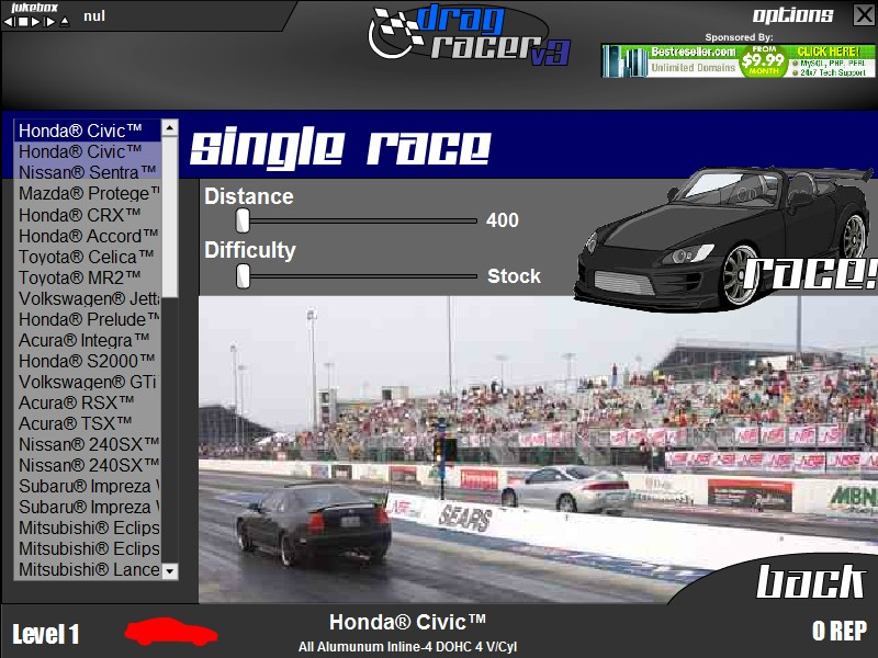 Drag racer v3 game free