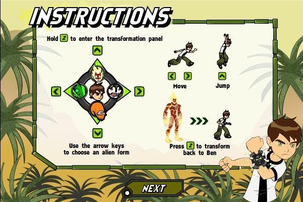 Ben 10 Games Online Savage Pursuit | Bolla co