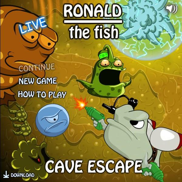 Ronald The Fish: Cave Escape Hacked (Cheats)