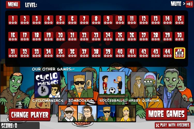 flaming zombooka 2 hacked cheats hacked free games