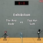 Stick Figure Badminton 2 Screenshot