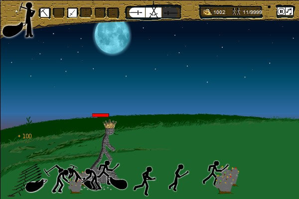 Stick War Hacked Cheats  Hacked Free Games