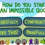 Impossible Quiz Book Screenshot