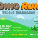 Dino Run Screenshot
