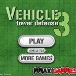 Vehicle Tower Defence 3 Screenshot