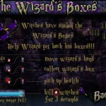 The Wizards Boxes Screenshot