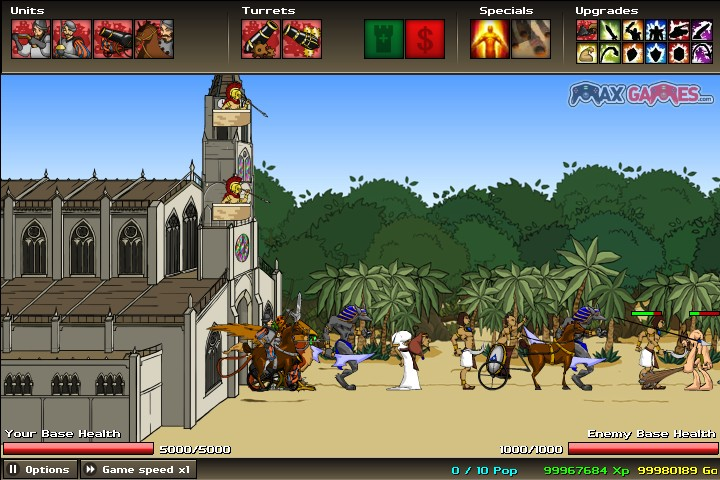 age of war 2 max games free games