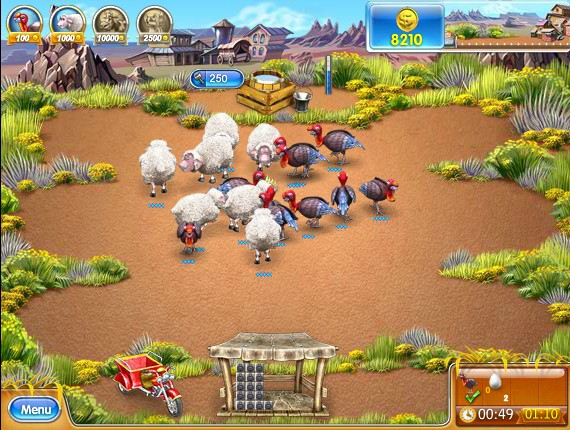 Farm Frenzy 3: American Pie Hacked (Cheats) - Hacked Free Games