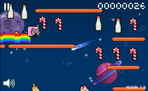 Nyan Cat: Lost in Space Hacked (Cheats) - Hacked Free Games
